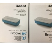 iROBOT BRAAVA JET LITHIUM ION BATTERY MOPPING ROBOT